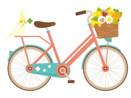 自行車和鳥