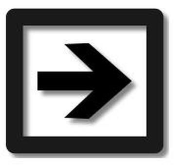 Black arrow box