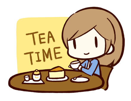 Tea time (with background)