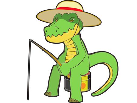 Animals - Crocodiles - Fishing