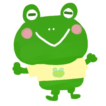 A frog in a frog 's clothes