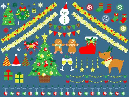 クリスマスモチーフセット