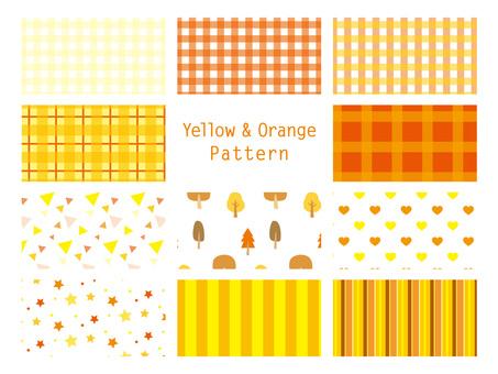 ลวดลายสีเหลือง