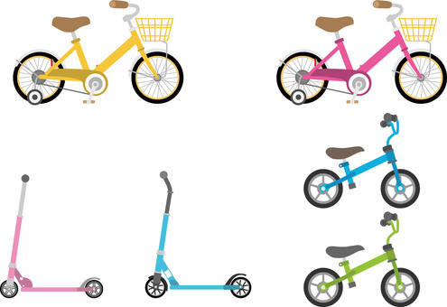 Bicycles for 3 children
