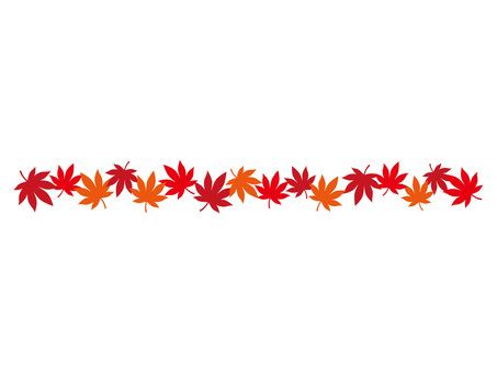 Autumn leaves line 1