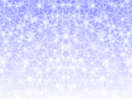 Snow crystal background material -2