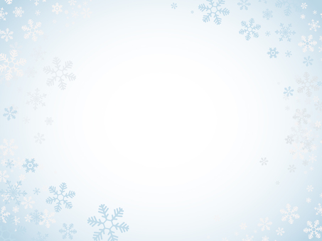 Snow background _ Blue White
