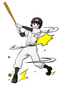 Baseball boy Olympics