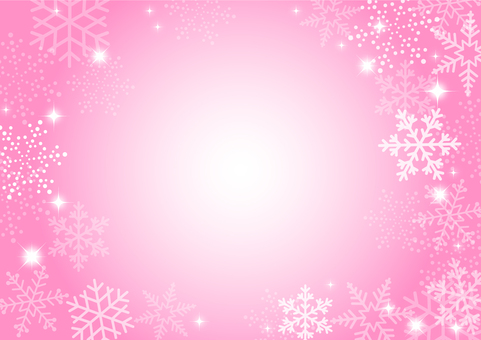 Snow crystal pink
