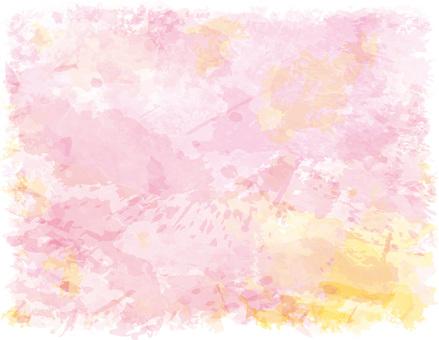 Background watercolor pink texture handwritten transparent wallpaper