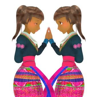 Mong twins