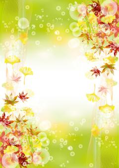 Autumn leaves & gingko 28
