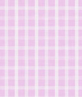 Plaid cloth (pink)
