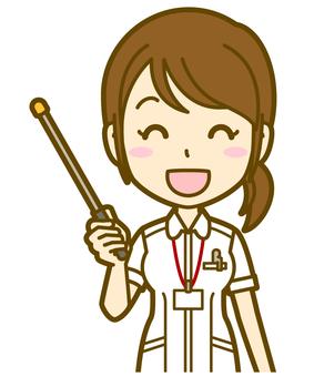 Female (nurse): A_ point 07 BS