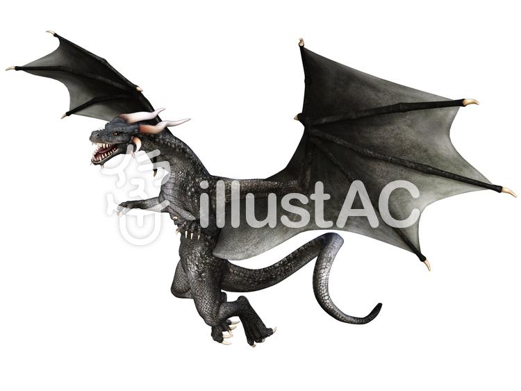 グレイ・ドラゴンのイラスト