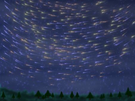Meteor cluster Ⅱ
