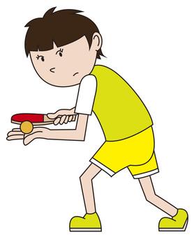 乒乓球女孩3