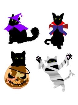 猫ハロウィン