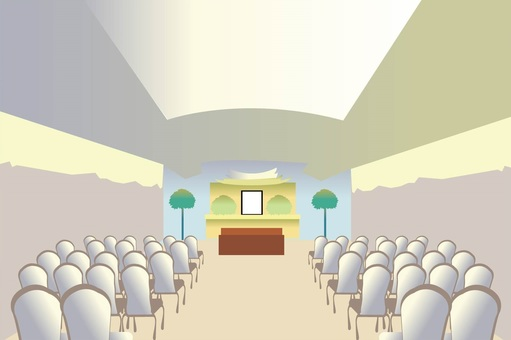 Ceremonial hall · funeral home