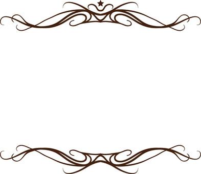 Upper frame
