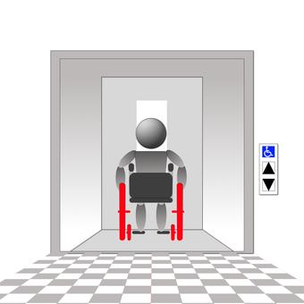 Wheelchair elevator 3