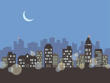 Street _ night view