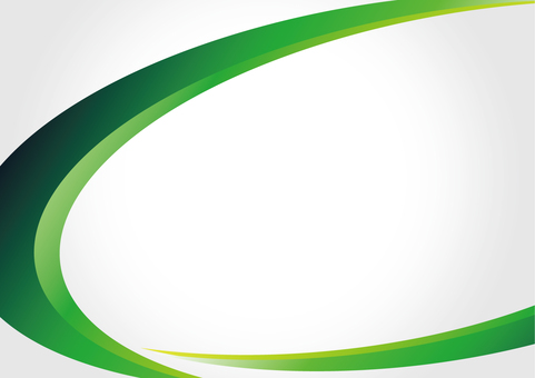 Background _ Curved design _ Green