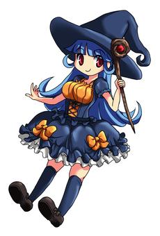 마녀 (파란 머리)