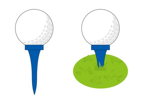 用高爾夫球茶