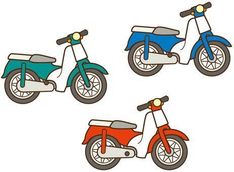 Motorbike 3 colors