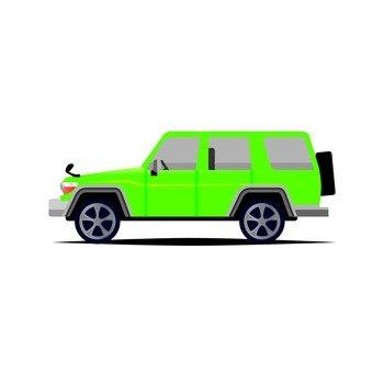4WD car