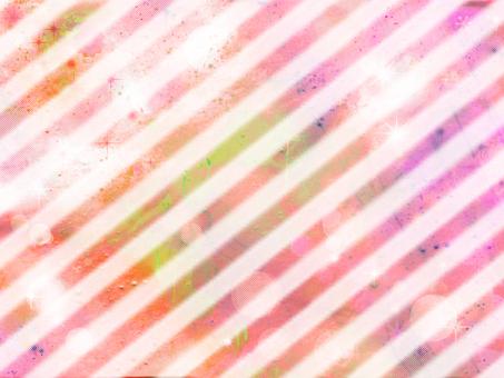 Diagonal stripe pink