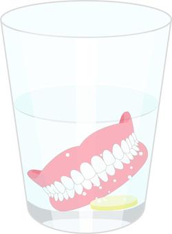 Maintenance of dentures