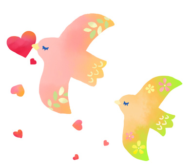 一隻載著一顆心的鳥