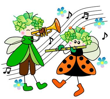 Fairy _ Grasshopper Ladybug