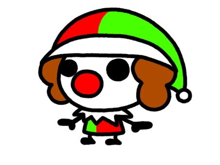 Clown colorful