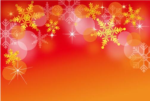 Crystal Christmas Background