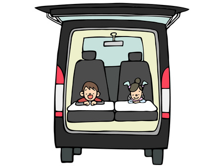 Overnight in the car