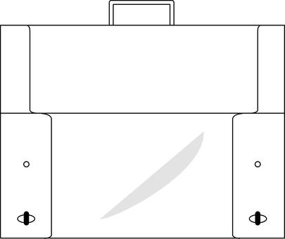 Dulles bag (Transparent)