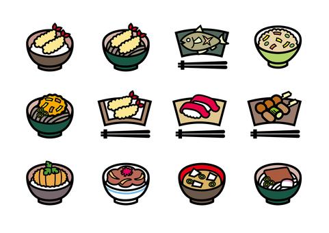 Japanese meal Japanese food