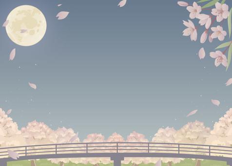 벚꽃 달 작은 버전