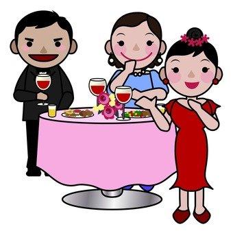 Reception party