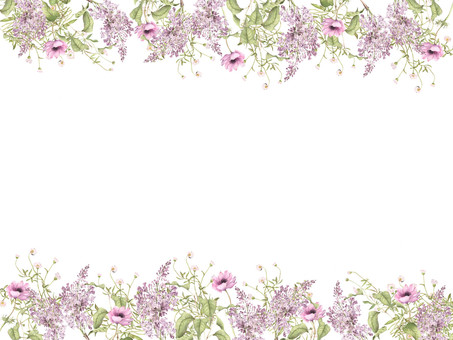 Flower Frame 431 Lilac Season