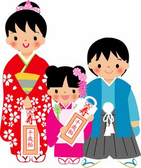 Shichigosan Children