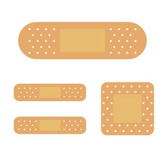 Bandage by size Illustration
