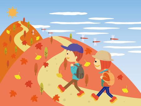 Mountain climbing ☆ autumn