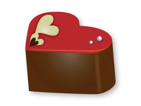 Chocolate Heart 1