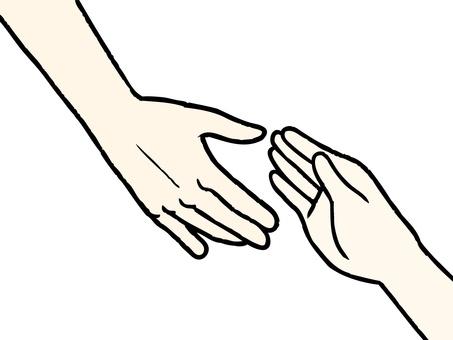 Hand and hand 02