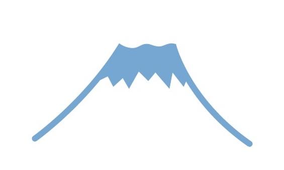 Fuji simple illustration