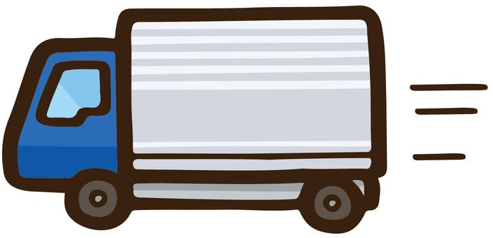 ラフなタッチのトラック